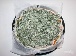 Пасхальный пирог со шпинатом и рикоттой - фото шаг 3