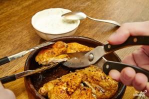 Цыплёнок табака грузинский - фото шаг 7