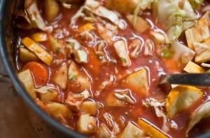 Рагу с картошкой и капустой - фото шаг 6