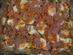 Салат с кукурузой и капустой - фото шаг 3