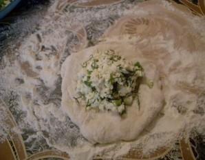 Пирожки с зеленью - фото шаг 5