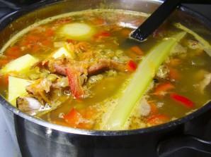Чечевично-гороховый суп - фото шаг 5