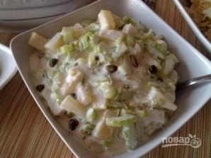 Салат из сельдерея с ананасом - фото шаг 5