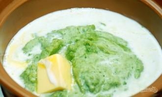 Крем-суп из зеленого горошка и мяты - фото шаг 4