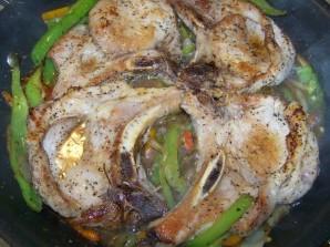 Жареное мясо на сковороде - фото шаг 6