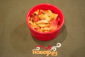 Грибы с помидорами - фото шаг 4