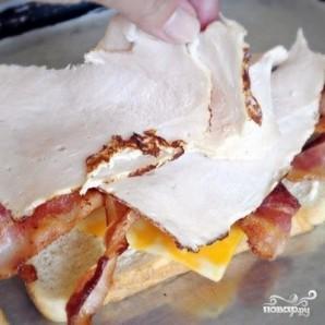 Клубный сэндвич - фото шаг 3