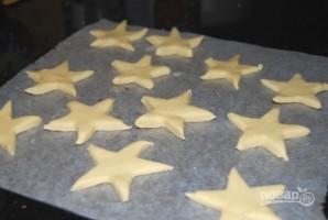 """Песочное печенье """"Звездочки"""" (пошаговый рецепт) - фото шаг 5"""