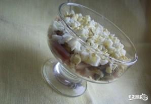 Кальмаровый салат с огурцом - фото шаг 4