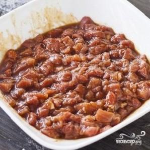 Китайские булочки с мясом - фото шаг 3