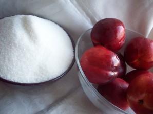 Десерт из нектаринов - фото шаг 1