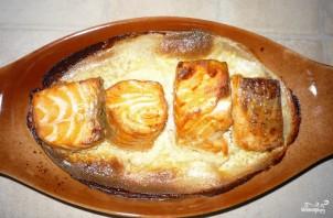 Семга кусочками, запеченная в духовке - фото шаг 2