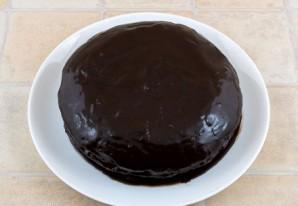 Постный кекс с вареньем - фото шаг 10