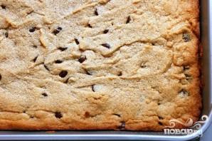 Шоколадные пирожные с арахисовым маслом и орехами пекан - фото шаг 2