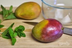 Кекс с манго и мятой - фото шаг 6