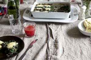 Яйца, запеченные с грибами и шпинатом - фото шаг 8