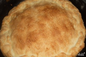 Пирог с картофелем и сыром - фото шаг 9