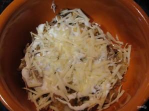 Картошка с грибами со сметаной - фото шаг 5