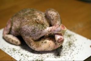 Ароматная курица в духовке - фото шаг 2