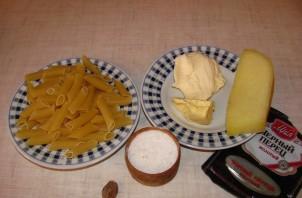 Макароны со сливочным соусом - фото шаг 1
