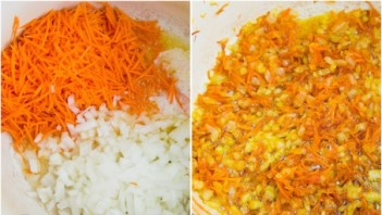 Курица с рисом и морковью - фото шаг 2