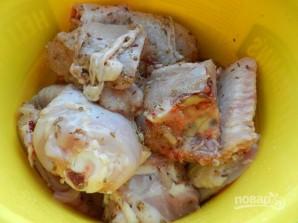 Шашлык из курицы на минеральной воде - фото шаг 4
