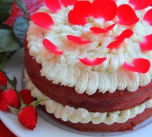 "Торт ""Красный бархат"" - фото шаг 7"