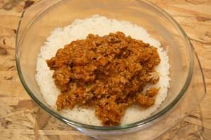 Запеканка мясная с рисом - фото шаг 9