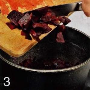 Говяжья печенка с красным луком - фото шаг 3