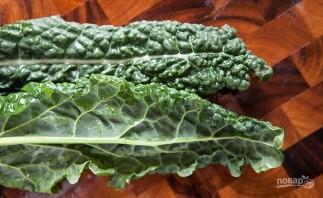 Салат с пармезаном - фото шаг 1
