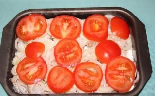 Треска под соусом в духовке - фото шаг 5