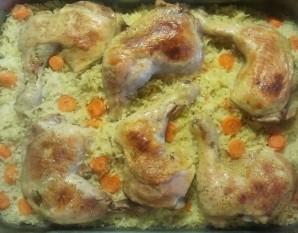 Ленивый рис с курицей - фото шаг 6