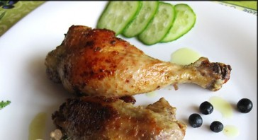 Курица в мультиварке жареная - фото шаг 5