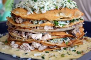 Курник с рисом и курицей - фото шаг 5