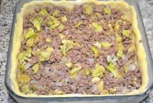 Открытый мясной пирог с картофельным тестом - фото шаг 12