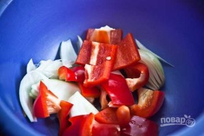 Вкуснейший шашлык в духовке - фото шаг 2