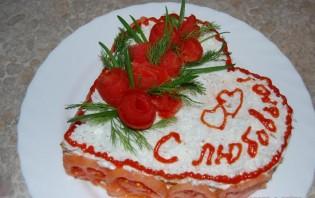 Закусочный торт из слоеного теста - фото шаг 14