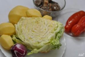 Грибы тушеные с овощами - фото шаг 1