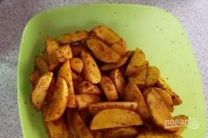 Печеная картошка - фото шаг 2