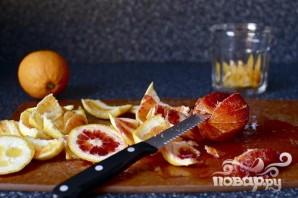 Пирог с апельсинами и оливковым маслом - фото шаг 1