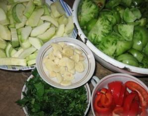 Кабачки с помидорами на зиму - фото шаг 2
