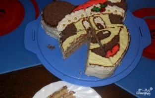 Торт в виде Миккимауса - фото шаг 5