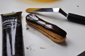 Шоколадные эклеры - фото шаг 19