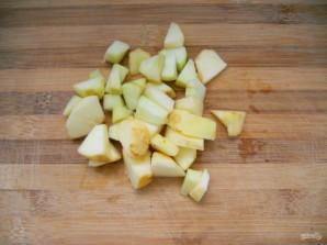 Яблочный пудинг - фото шаг 1