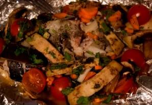 Форель, запеченная с овощами - фото шаг 5