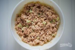 Салат из тунца - фото шаг 3