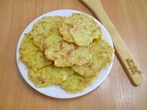 Оладьи из тыквы с картофелем - фото шаг 9