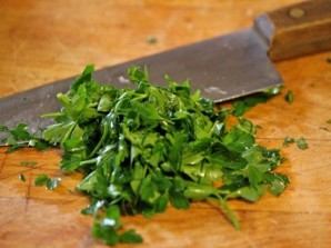 Салат из шпината и щавеля - фото шаг 1