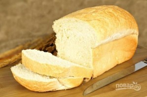 Бутерброды с колбасой - фото шаг 1