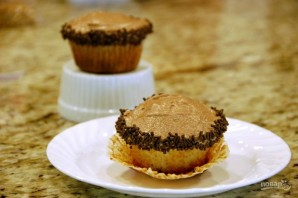 Домашние кексы в формочках - фото шаг 9